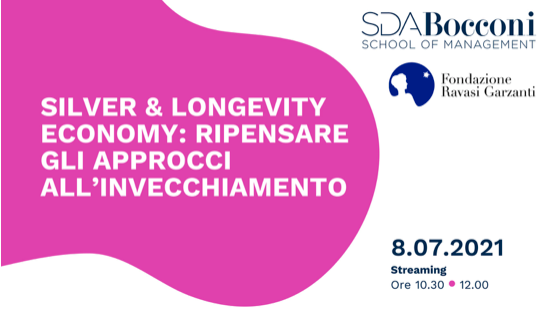 """presentazione del rapporto di ricerca """"Silver & Longevity Economy: ripensare gli approcci all'invecchiamento"""""""